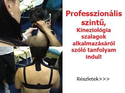 Kinesiology Tape Tanfolyam