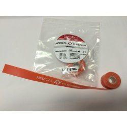 MEDICAL FLOSSING Terápiás Gumiszalag 1 m x 2 cm 1 mm narancssárga