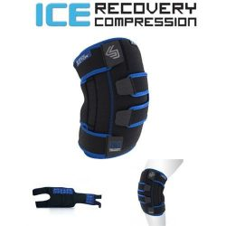 SHOCK DOCTOR Ice Recovery Kompressziós Hideg-Meleg Gélpárna Rögzítő Térd L/XL