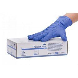 HARTMANN Peha-soft Nitrile Gumikesztyű kék M (100 db)