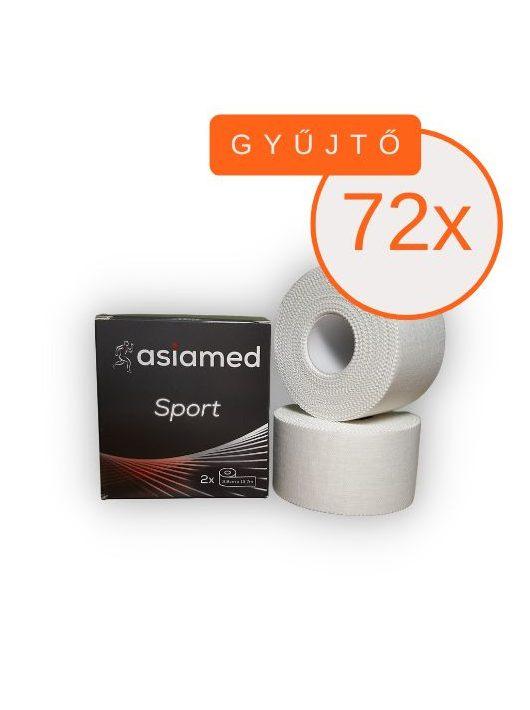 ASIAMED Sport Tape 3,8 cm x 13,7 m (nem elasztikus tape) 2 DB/GYŰJTŐ (72 X GYŰJTŐ)