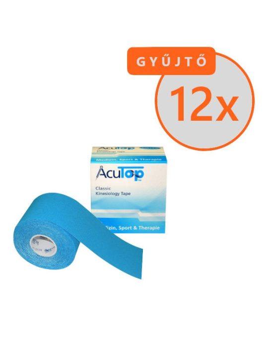 ACUTOP Classic Kineziológiai Tapasz / Szalag 5 cm x 5 m Kék 12 DB/GYŰJTŐ