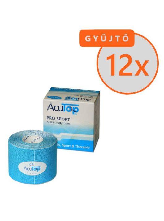ACUTOP Pro Sport Kineziológiai Szalag / Tapasz 5 cm x 5 m Kék 12 DB/GYŰJTŐ