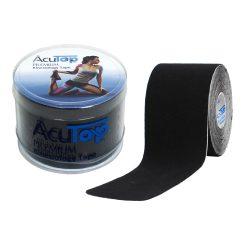 ACUTOP Premium Kineziológiai Szalag / Tapasz 5 cm x 5 m Fekete